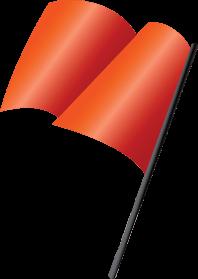 flaga_czerwona